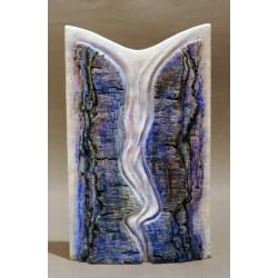 Tablele Legii II - ceramică în şamotă, artist Petru Leahu