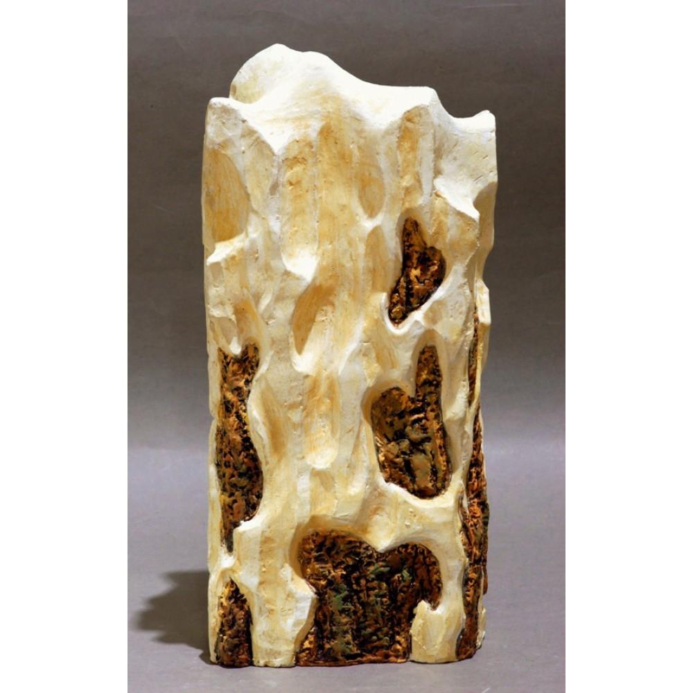 Sunet de orgă - ceramică în şamotă, artist Petru Leahu