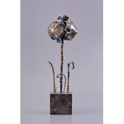 În amintirea războiului pierdut - sculptură în bronz, artist Liviu Bumbu