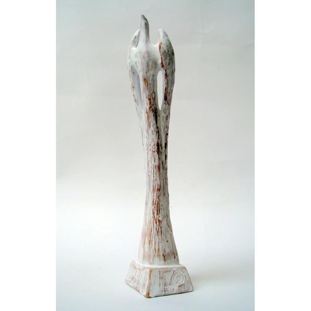 Avânt I - sculptură în lut ars, artist Petru Leahu
