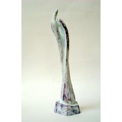 Avânt II - sculptură în lut ars, artist Petru Leahu