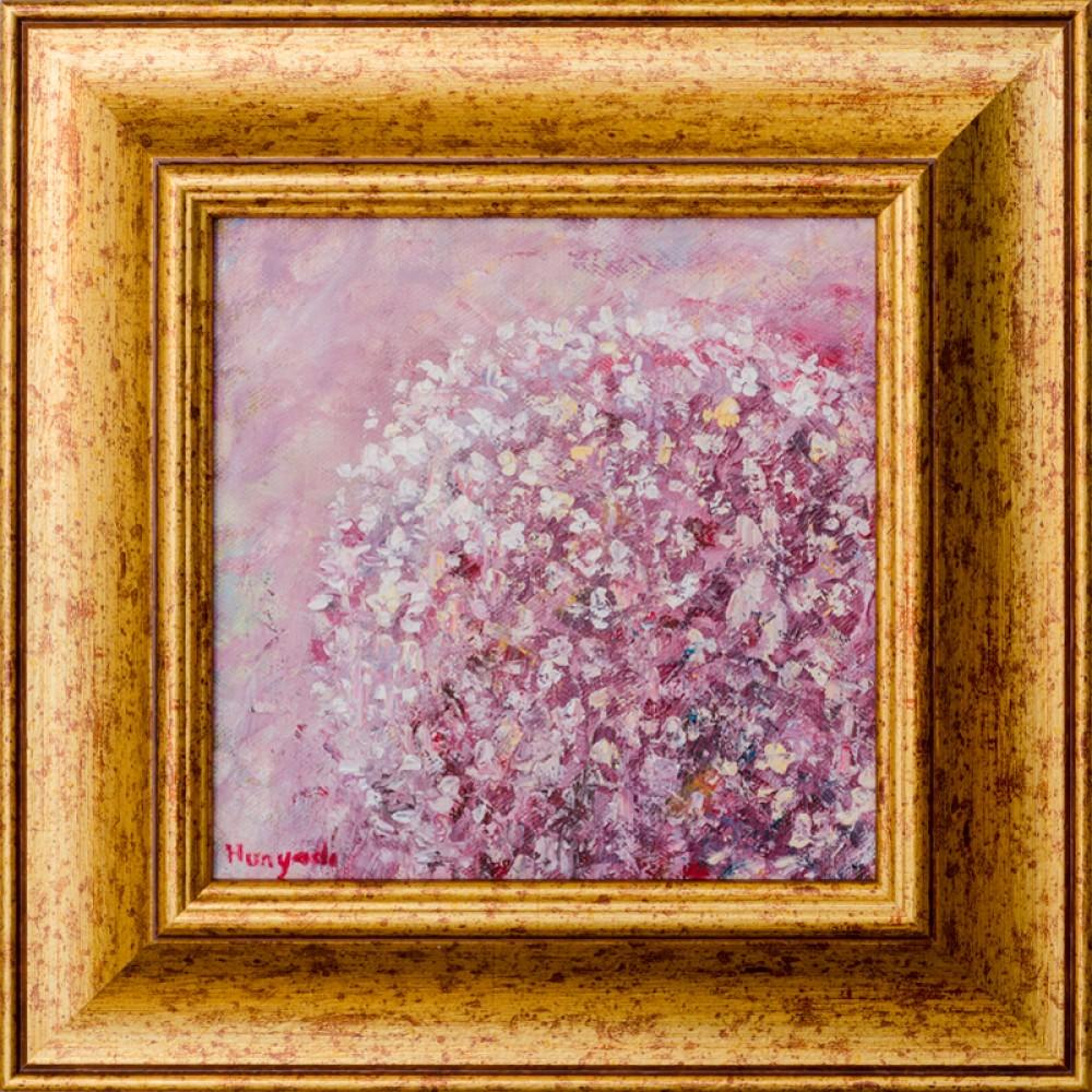 Miresme de primăvară II - pictură în ulei pe pânză, artist Adrian Hunyadi