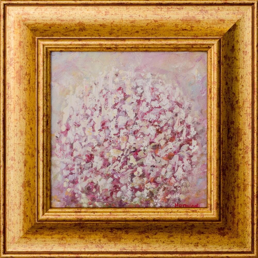 Miresme de primăvară III - pictură în ulei pe pânză, artist Adrian Hunyadi