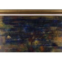 Copac clovn - pictură în ulei pe pânză, artist Iurie Cojocaru