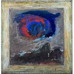 Peisaj metafizic - pictură în ulei pe pânză, artist Iurie Cojocaru