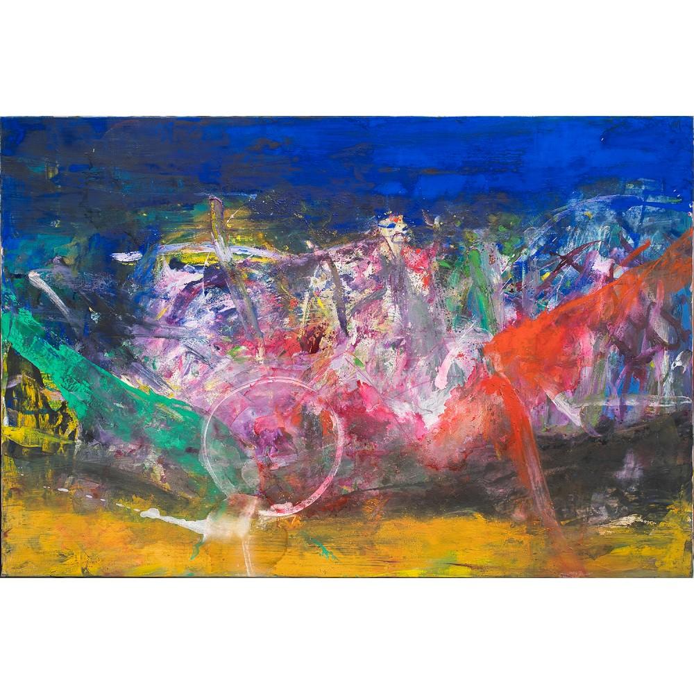 Lumină în transformare - pictură în ulei pe pânză, artist Iurie Cojocaru