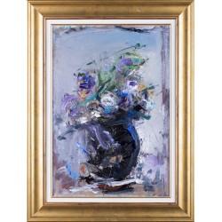Florile răului (Charles Baudelaire) - pictură în ulei pe carton, artist Iurie Cojocaru
