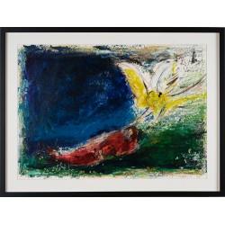 Visul - pictură în ulei pe carton, artist Iurie Cojocaru