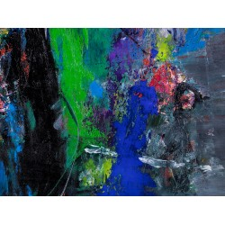 În căutarea Perfecțiunii- pictură în ulei pe pânză, artist Iurie Cojocaru