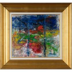 Oglindire - pictură în ulei pe pânză, artist Iurie Cojocaru