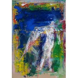 Prevăzătorul - pictură în ulei pe carton, artist Iurie Cojocaru