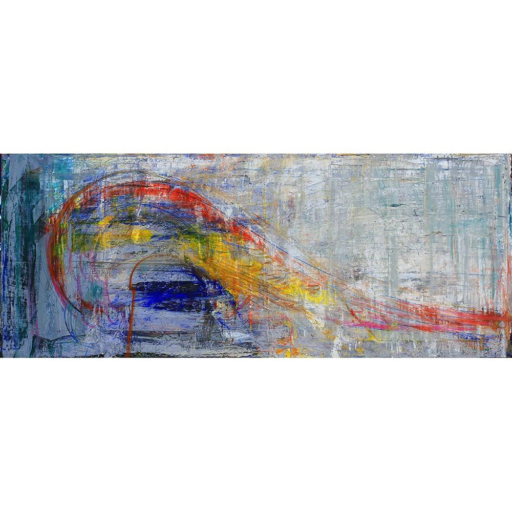Atingeri - pictură în ulei pe pânză, artist Iurie Cojocaru