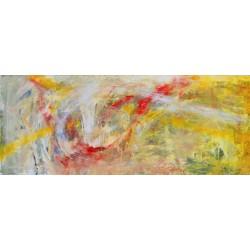 Atingeri IV - pictură în ulei pe pânză, artist Iurie Cojocaru