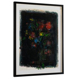 Parfum nocturn II - pictură în ulei pe carton, artist Iurie Cojocaru