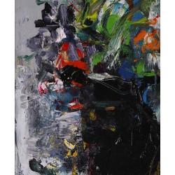 Stare - pictură în ulei pe pânză, artist Iurie Cojocaru