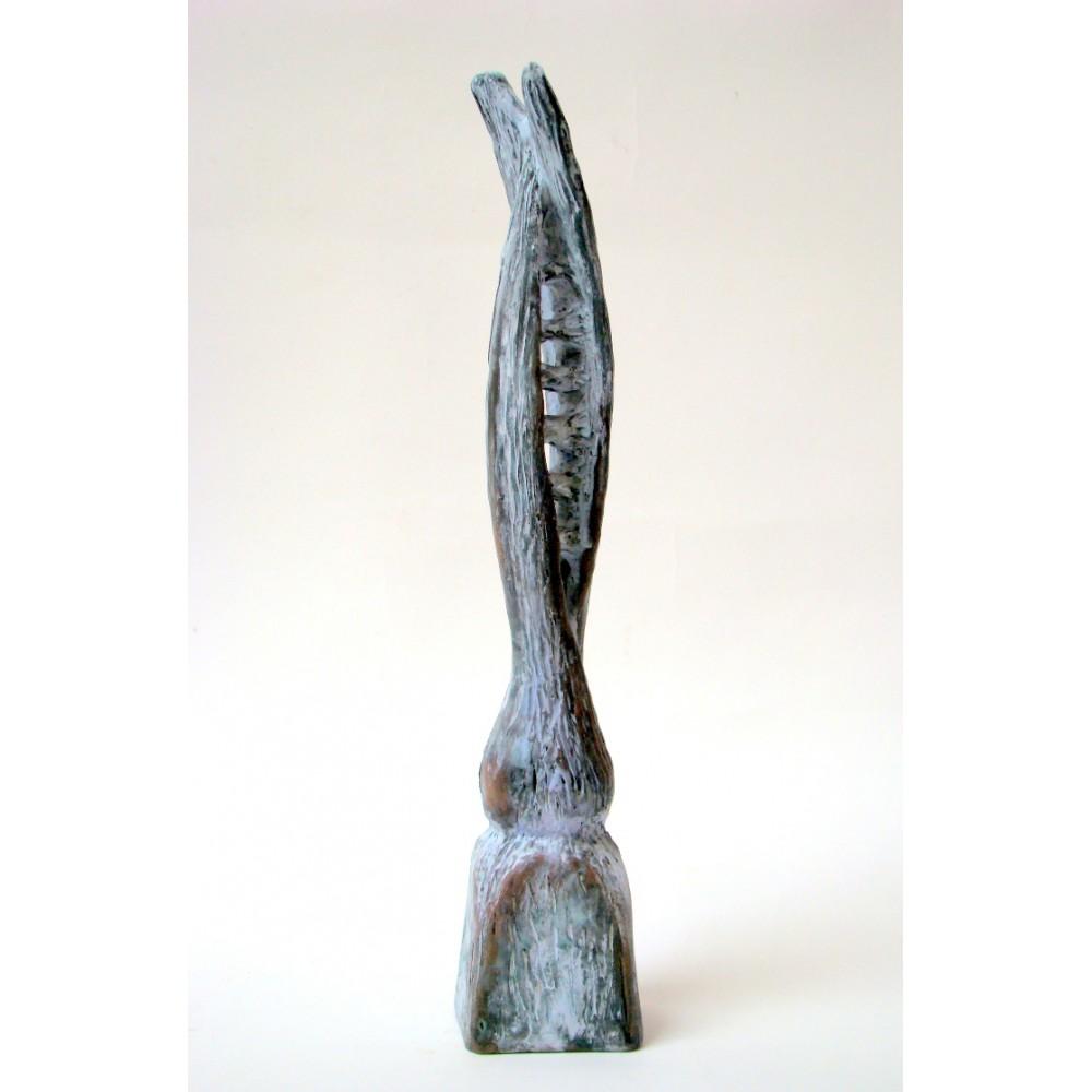 Legături - sculptură în lut ars, artist Petru Leahu