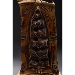 Porțile Cerului V - sculptură în bronz, artist Liviu Bumbu