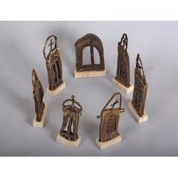 Grup statuar 7 - sculpturi în bronz, artist Liviu Bumbu