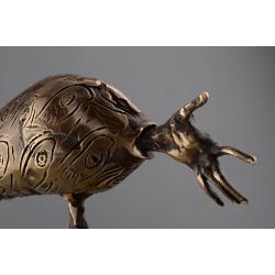 Iona - sculptură în bronz, artist Liviu Bumbu