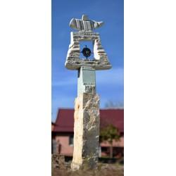 Poarta Soarelui- sculptură în piatră, artist Liviu Bumbu
