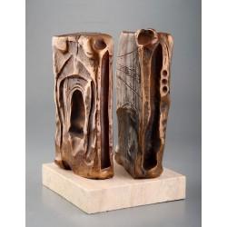 Tărtăria - sculptură în bronz, artist Liviu Bumbu