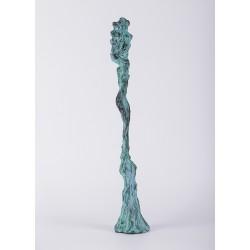 Turnare - sculptură în lut ars, artist Petru Leahu
