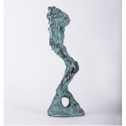 Reverență - sculptură în lut ars, artist Petru Leahu