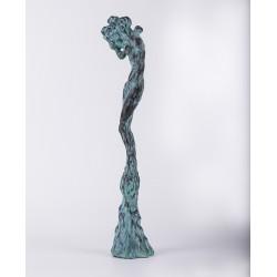 Unduire vie - sculptură în lut ars, artist Petru Leahu