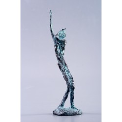 Aspirație - sculptură în lut ars, artist Petru Leahu