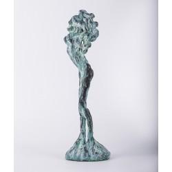 Povara darului - sculptură în lut ars, artist Petru Leahu