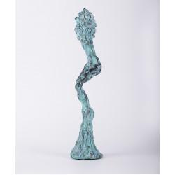 Dansul viței - sculptură în lut ars, artist Petru Leahu