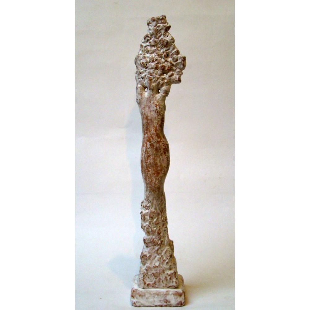 Vița de sus I - sculptură în lut ars, artist Petru Leahu