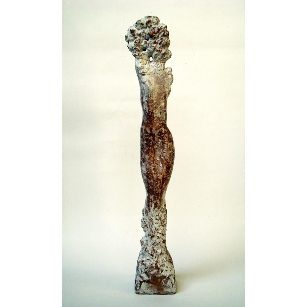Vița de sus II - sculptură în șamotă, artist Petru Leahu