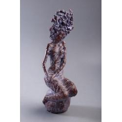 Tainică armonie - ceramică  patinată  Petru Leahu
