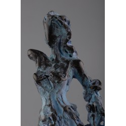 Felicita - ceramică  patinată, artist Petru Leahu