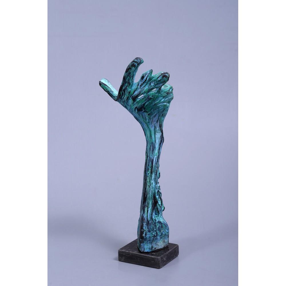 Dunamis - sculptură în lut ars, artist Petru Leahu