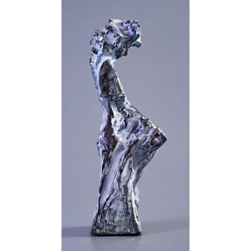 Feciorie - sculptură în lut ars, artist Petru Leahu
