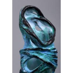 Fusion - sculptură în lut ars, artist Petru Leahu