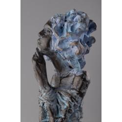 Așteptare- sculptură în lut ars, artist Petru Leahu