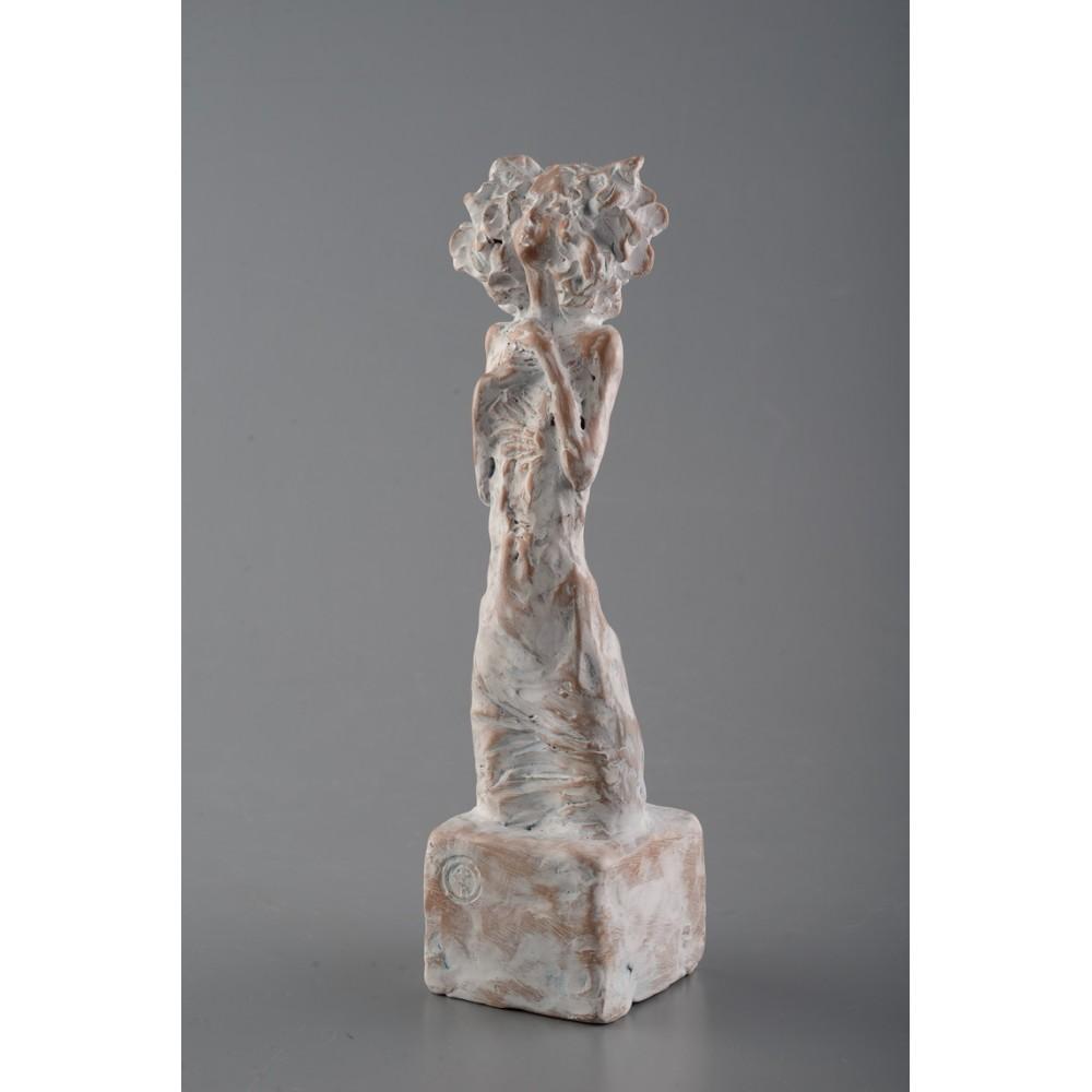 Luminare - sculptură în lut ars, artist Petru Leahu