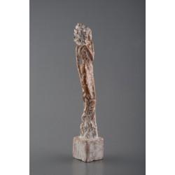 Nobles - sculptură în lut ars, artist Petru Leahu