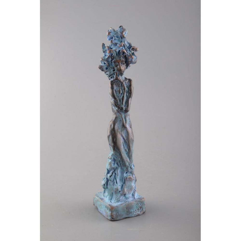 Vis - sculptură în lut ars, artist Petru Leahu