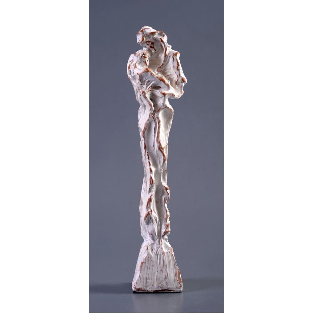 La sânul Lui - sculptură în lut ars, artist Petru Leahu