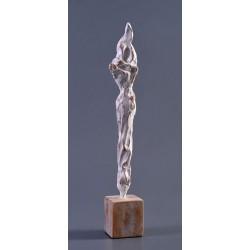 La steaua - sculptură în lut ars, artist Petru Leahu