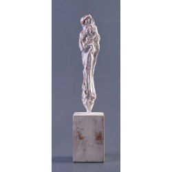 Madona - sculptură în lut ars, artist Petru Leahu