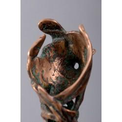 Legături II - sculptură în bronz, artist Petru Leahu
