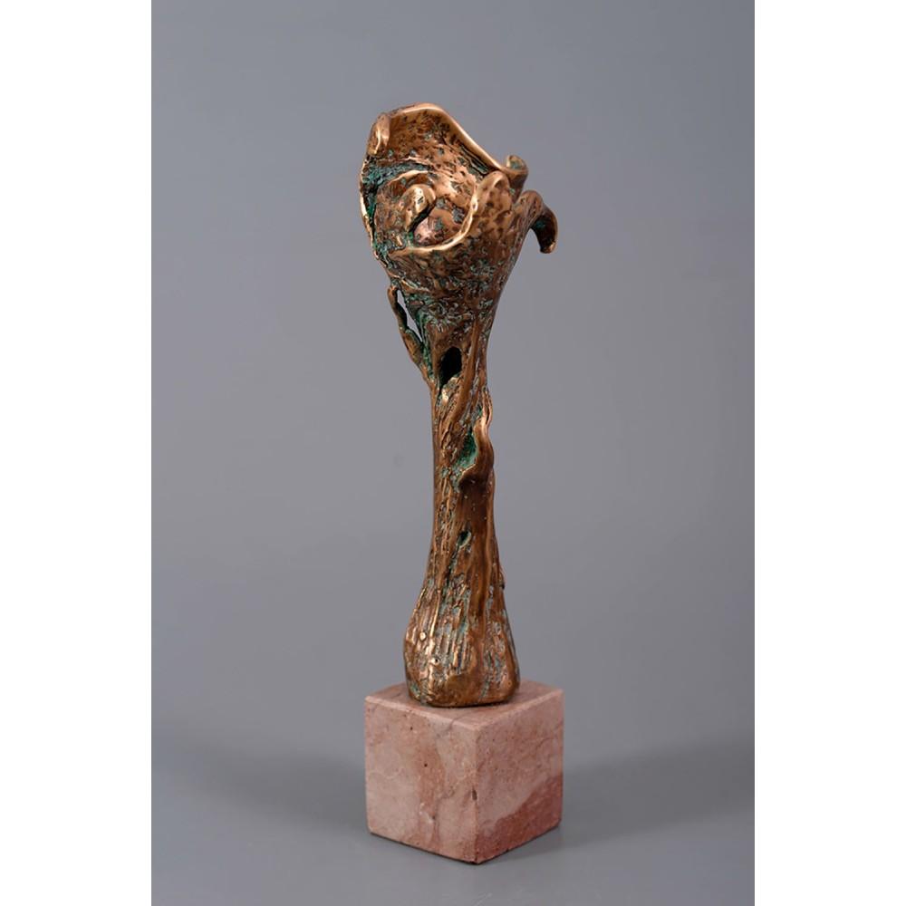 Pomul familiei - sculptură în bronz, artist Petru Leahu