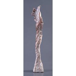 Sub aripă - sculptură în lut ars, artist Petru Leahu