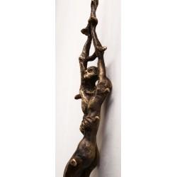 Sacrificiu - sculptură în bronz, artist Radu Pop